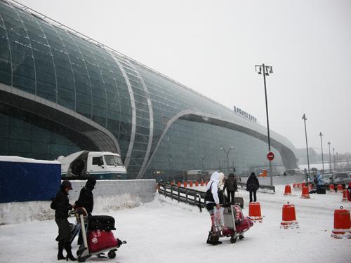 2010年2月:JAL便でモスクワ行き...